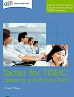Couverture du livre Tactics for TOEIC Speaking and Writing tests