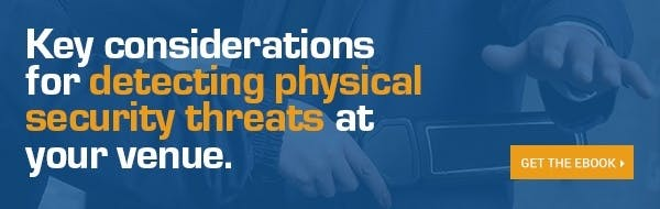 Key considerations for detecting physical security threats