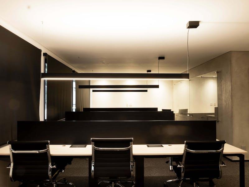 Sala de operações EWZ Capital