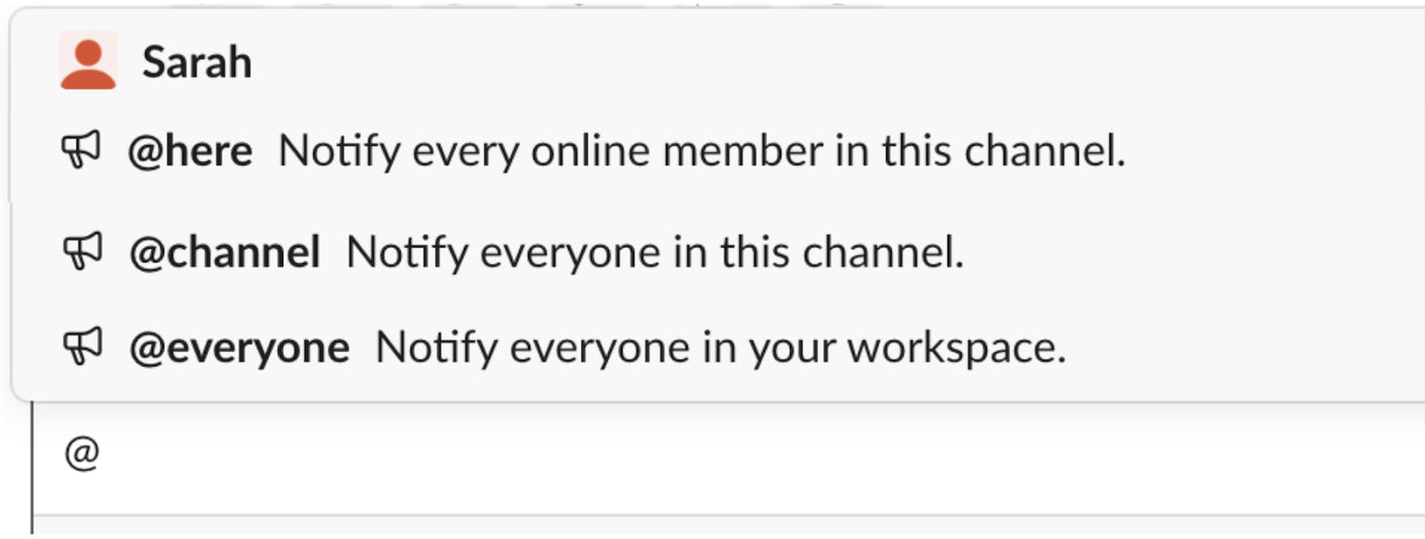 Using the Slack at feature.