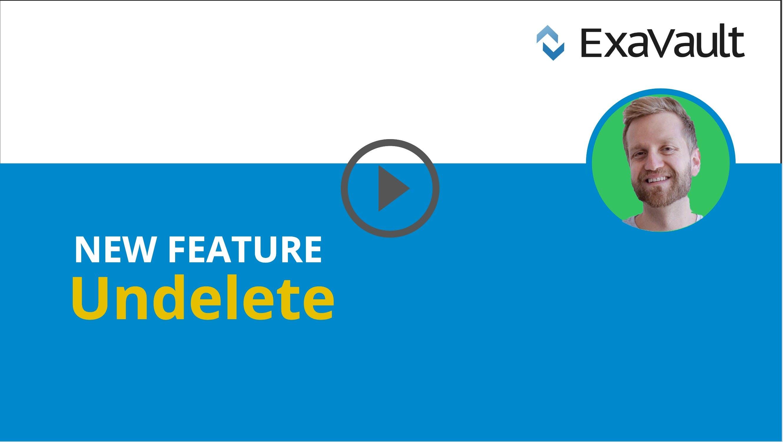 Undelete files video thumbnail.