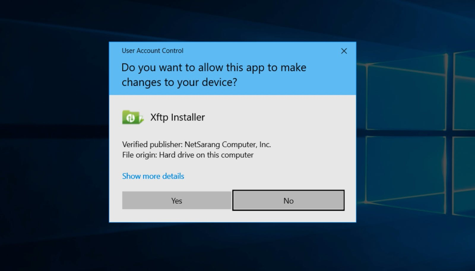 XFTP client installer.