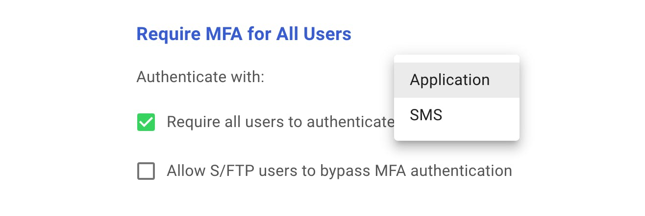Require MFA for FTP and account access.