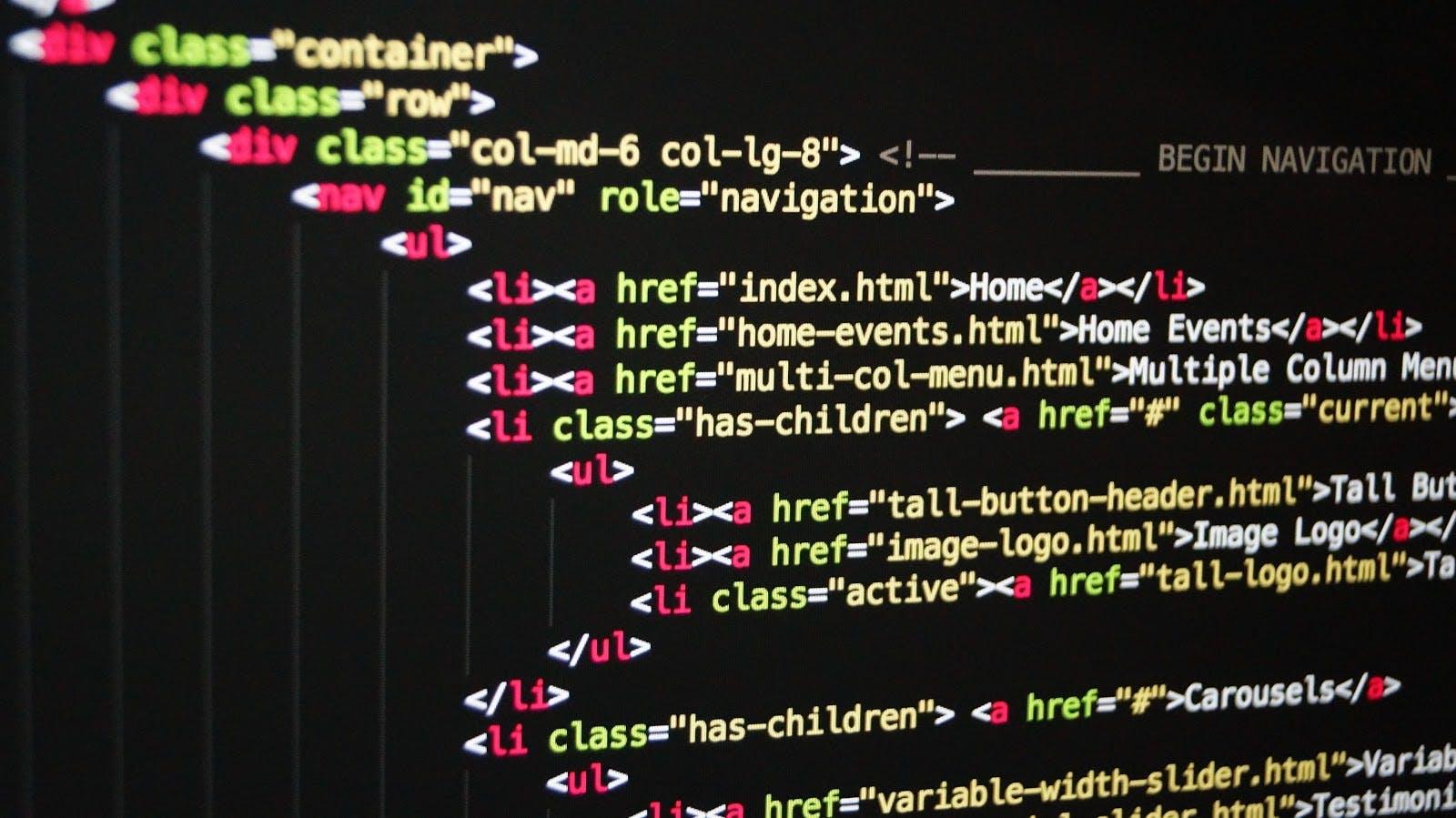 Debugging code on screen.