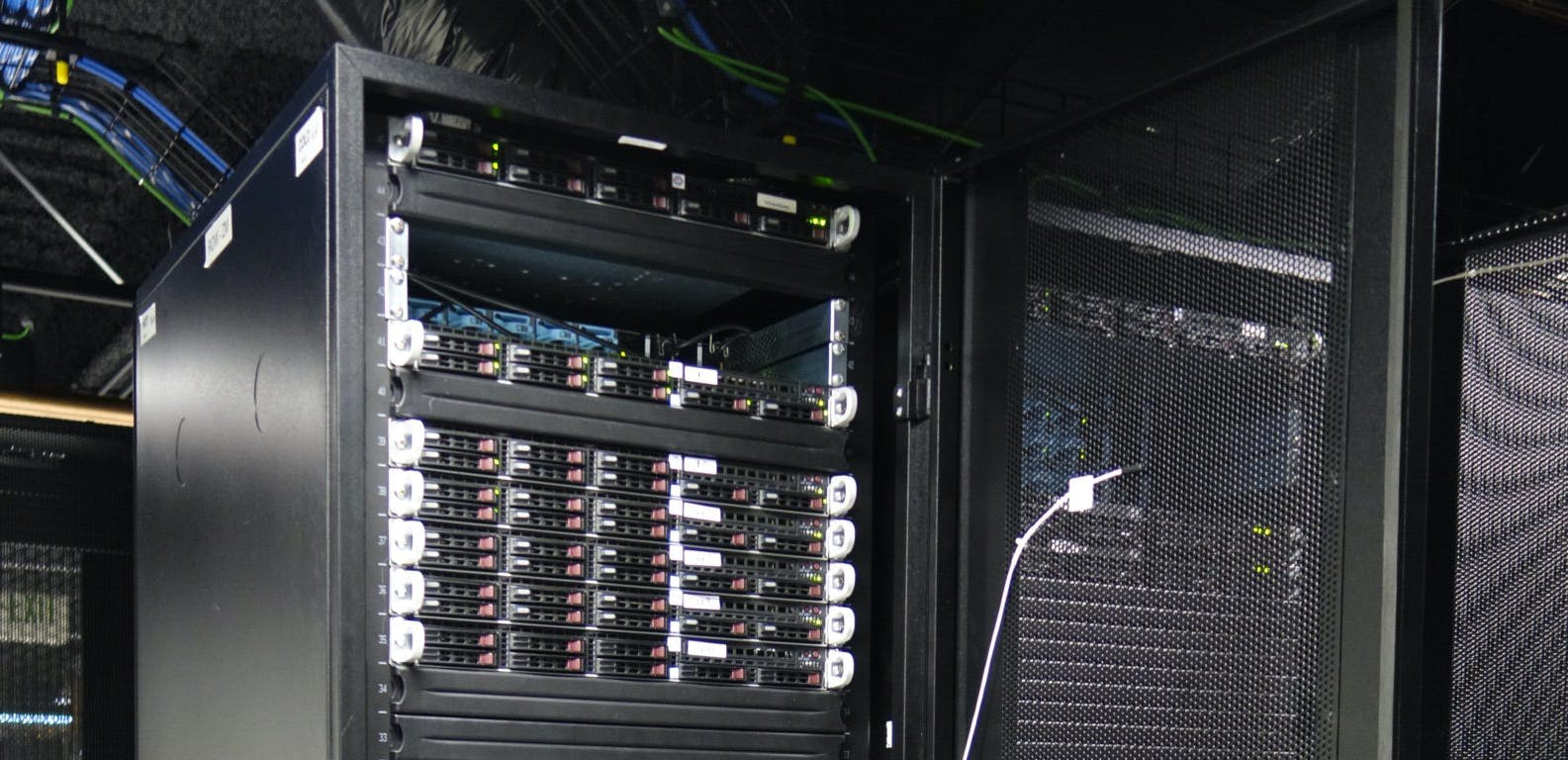 FTP server in a datacenter.