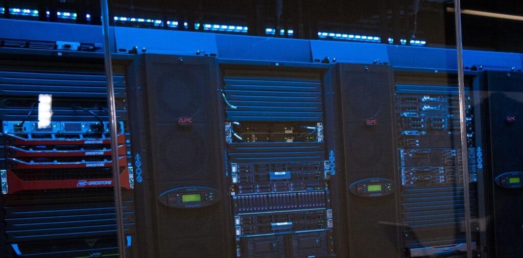 Servers for secure FTP hosting.