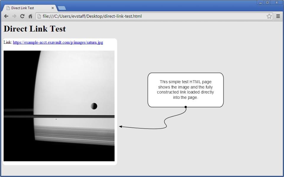 Direct link test.