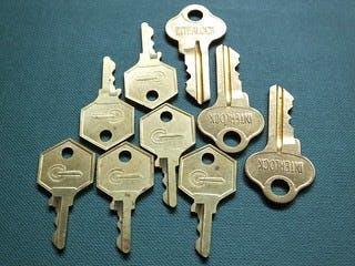 Nine keys.