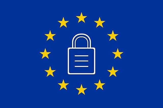 Logo for GDPR compliant secure FTP service.