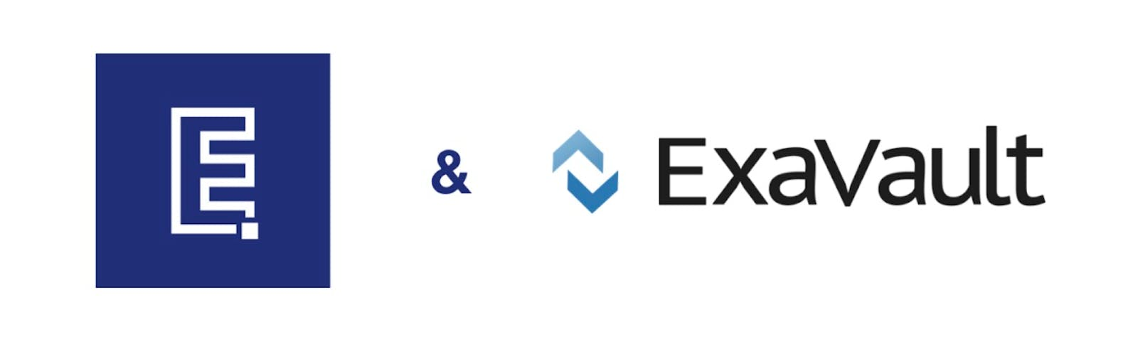Excelify and ExaVault logos.