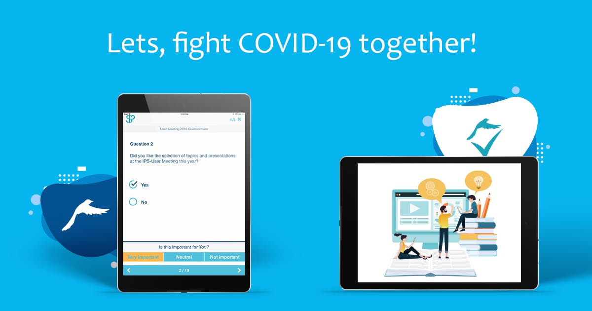 Let's fight COVID-19 together!