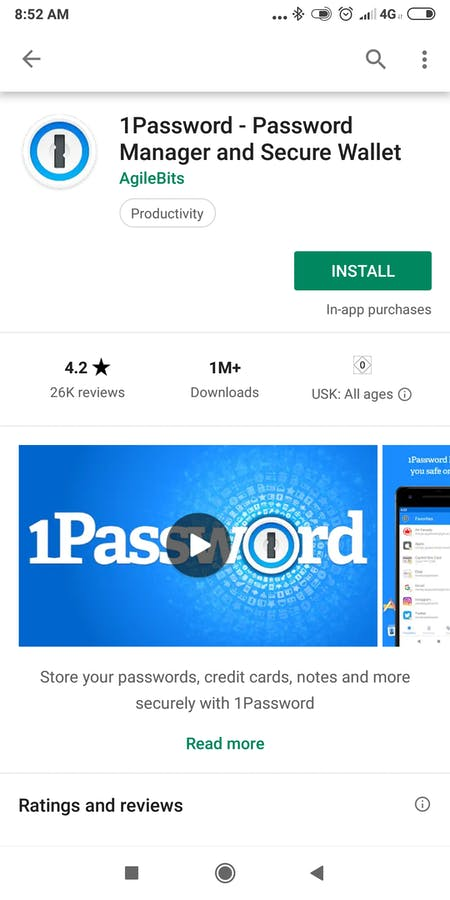 Passwort App Test