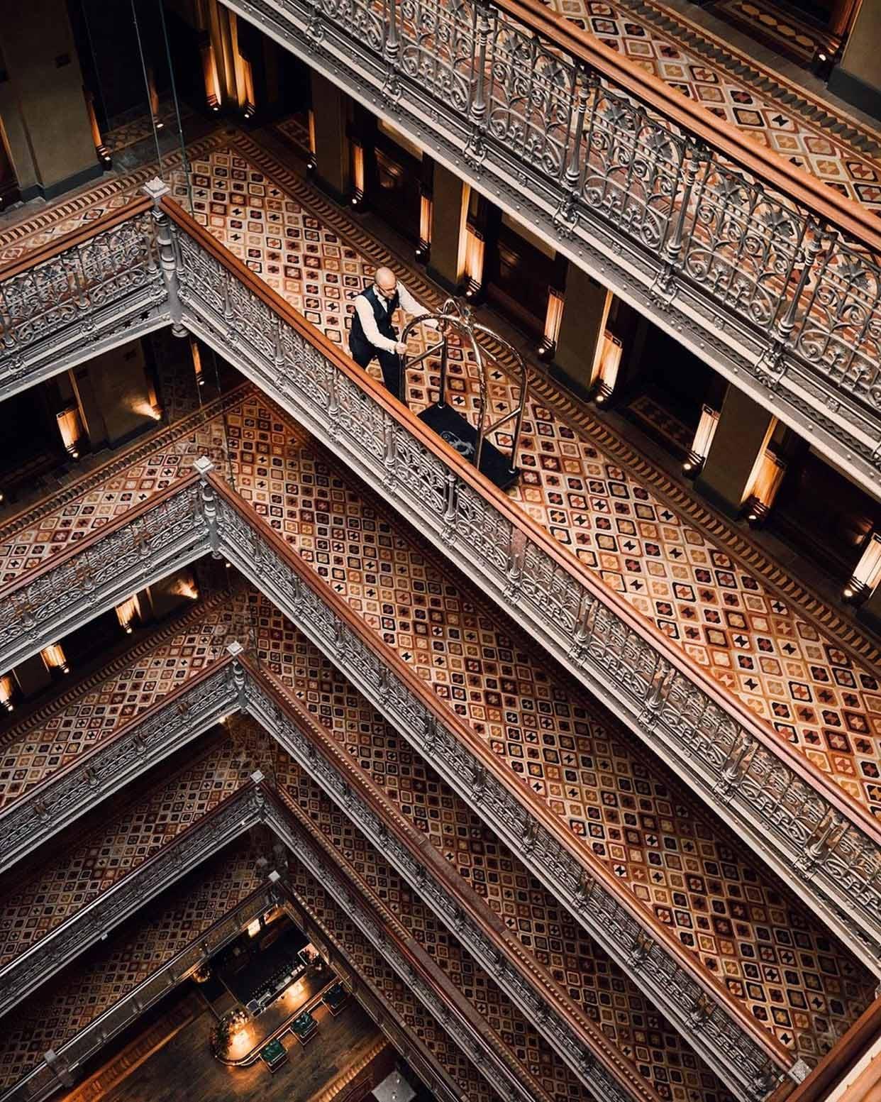 The Beekman Hotel Atrium & Bellman