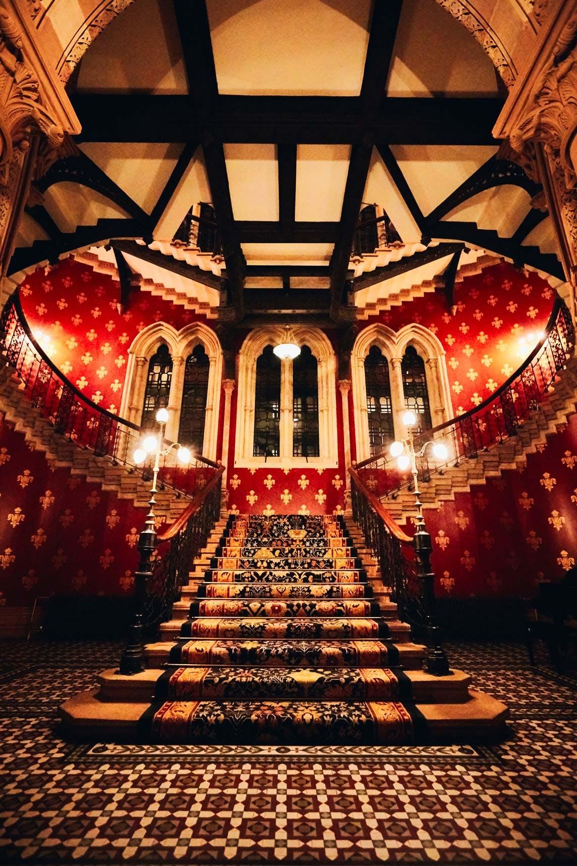 St. Pancras Renaissance Hotel London Staircase