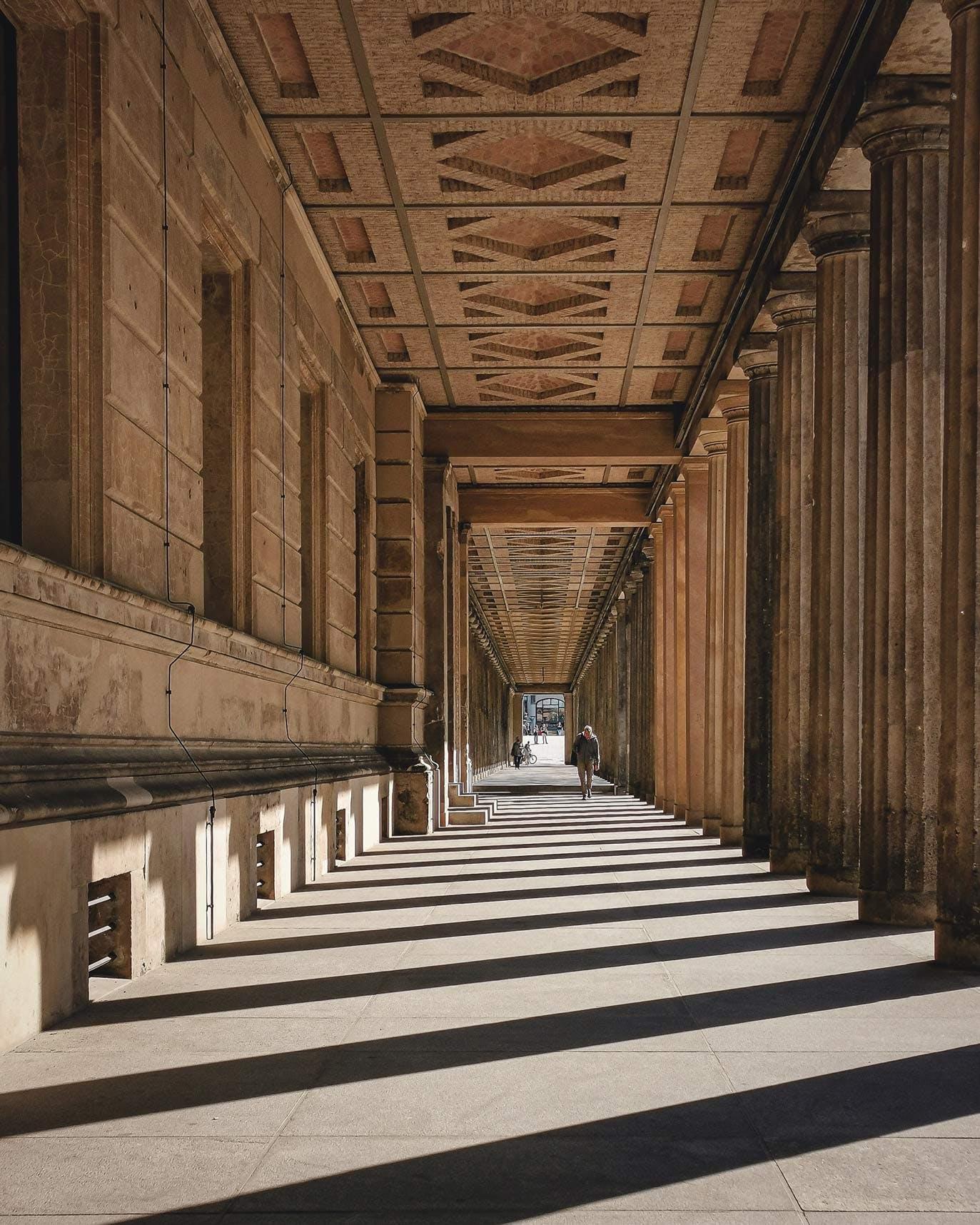 Museum Island Exterior Corridor