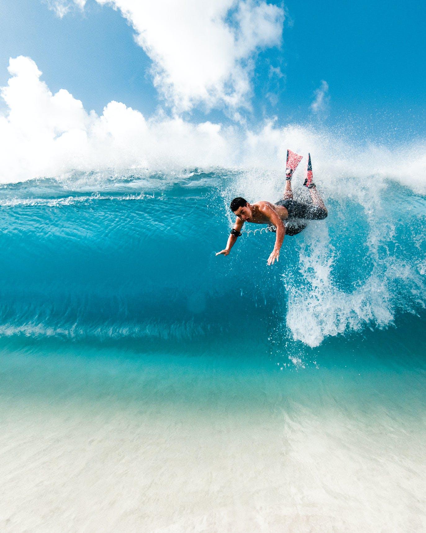 Sandy Beach Body Surfer