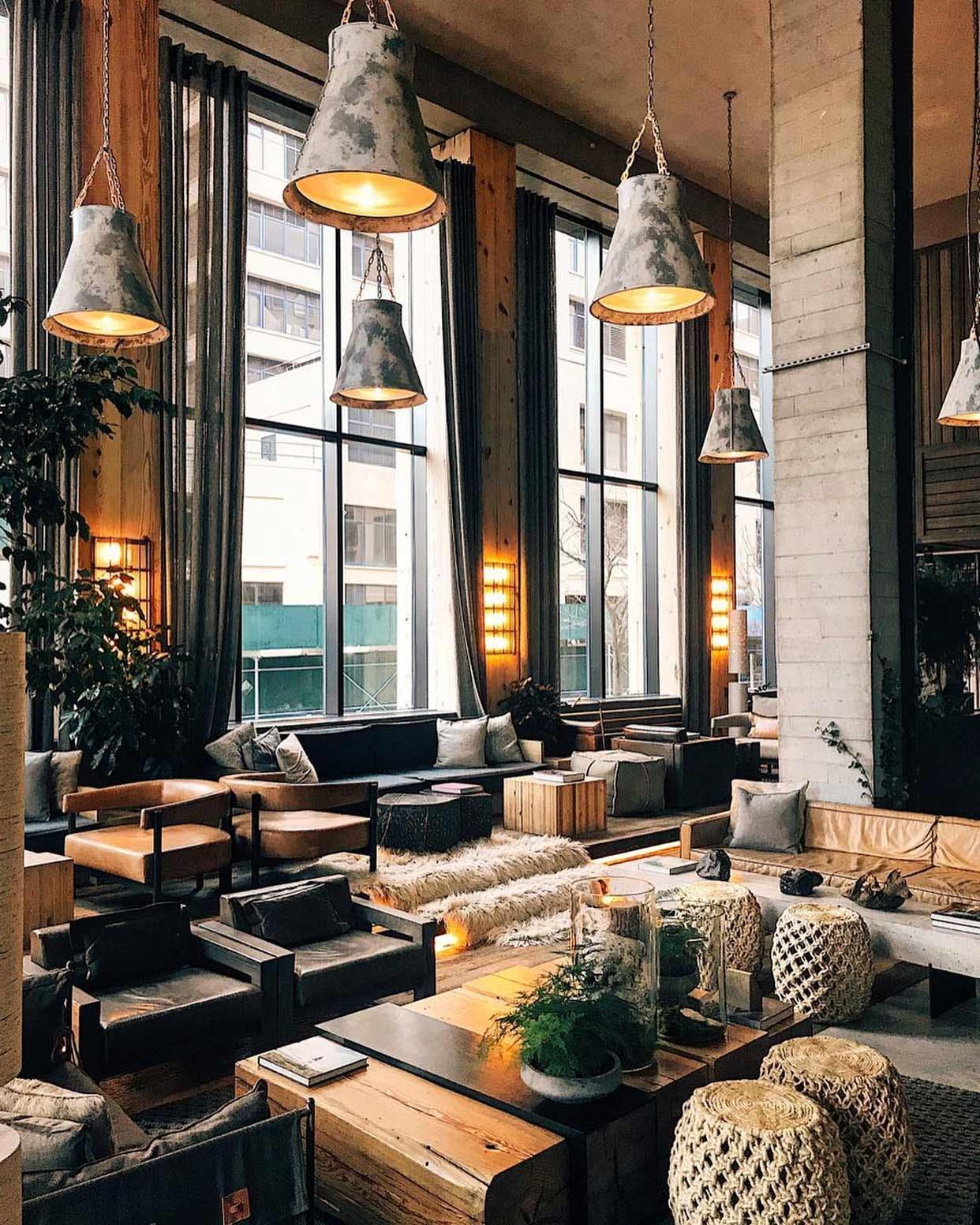 1 Hotel Brooklyn Bridge Lobby Lounge