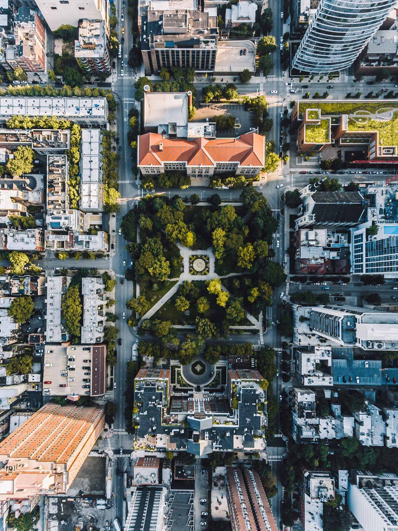 Washington Park Look Down