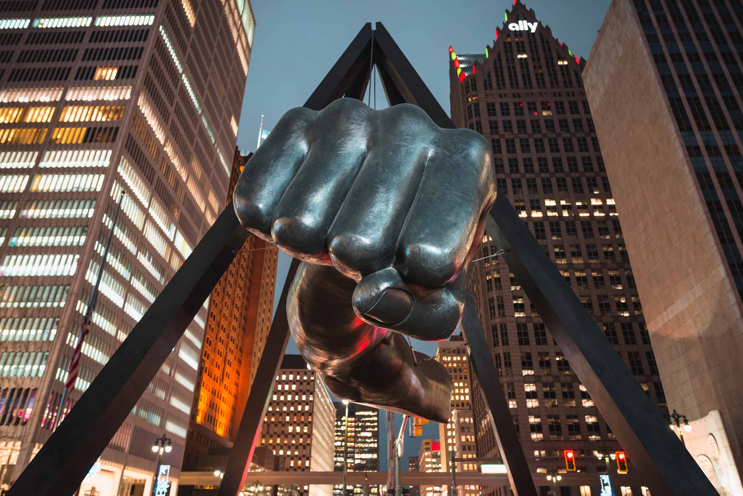Joe Louis Monument (The Fist)