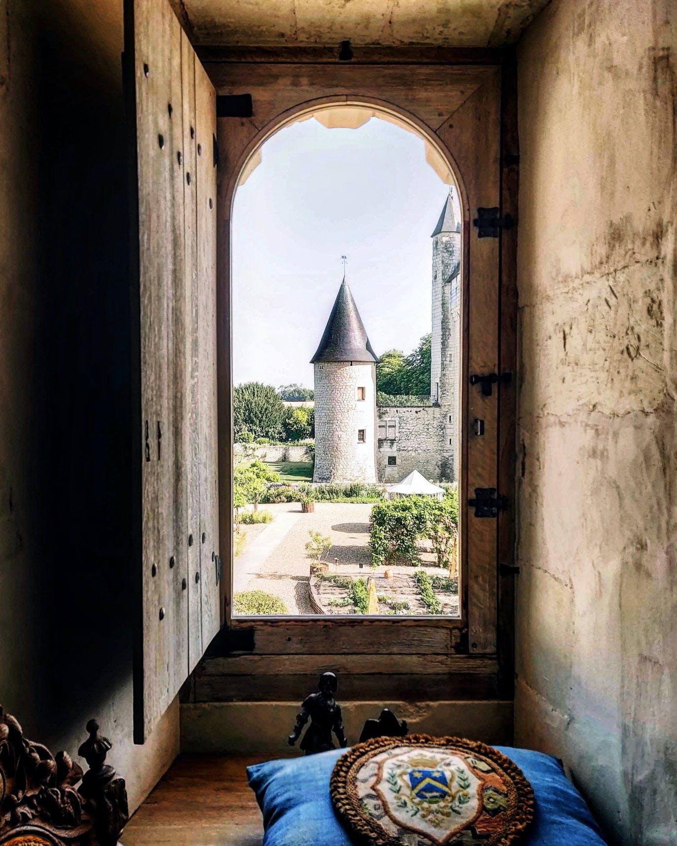 Interior Window of Châteay du Rivau