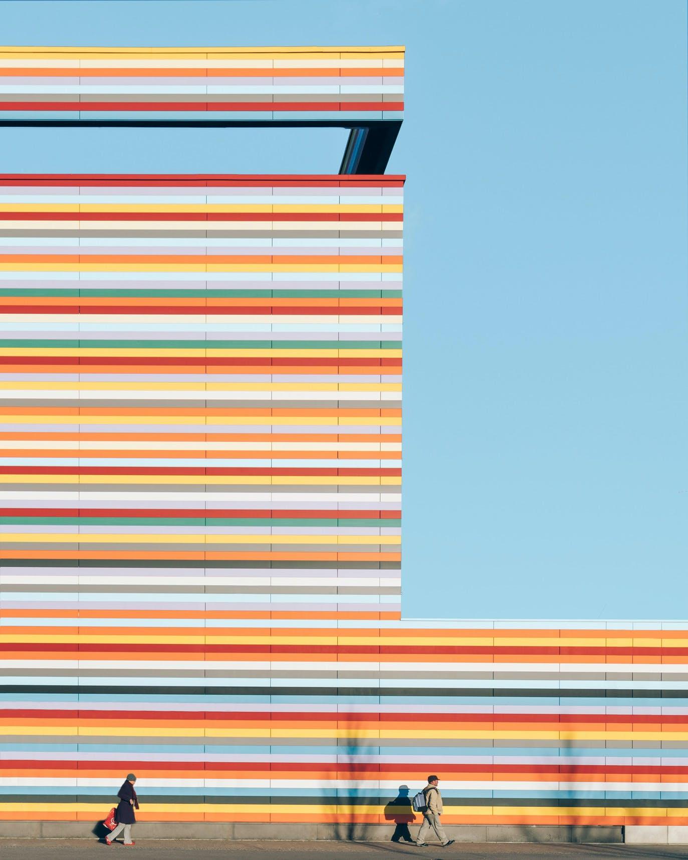 Rainbow Facade Meininger Hotel Berlin