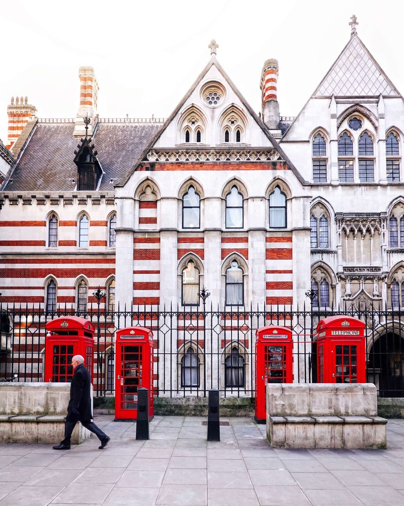 Royal Courts of Justice on Carey St