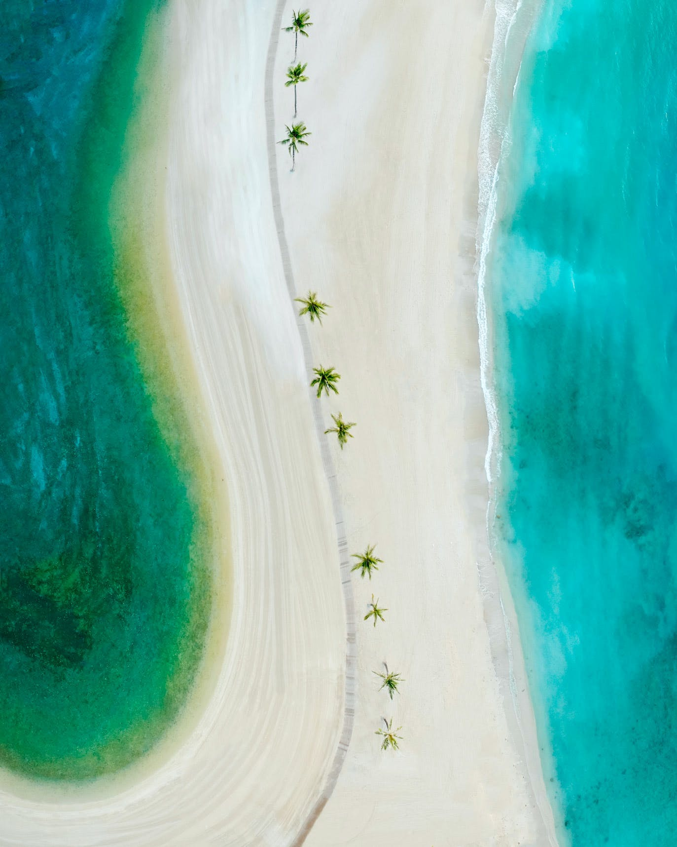Hilton Lagoon, Duje Kahanamoku Lagoon Boardwalk & Kahanamoku Beach Look Down