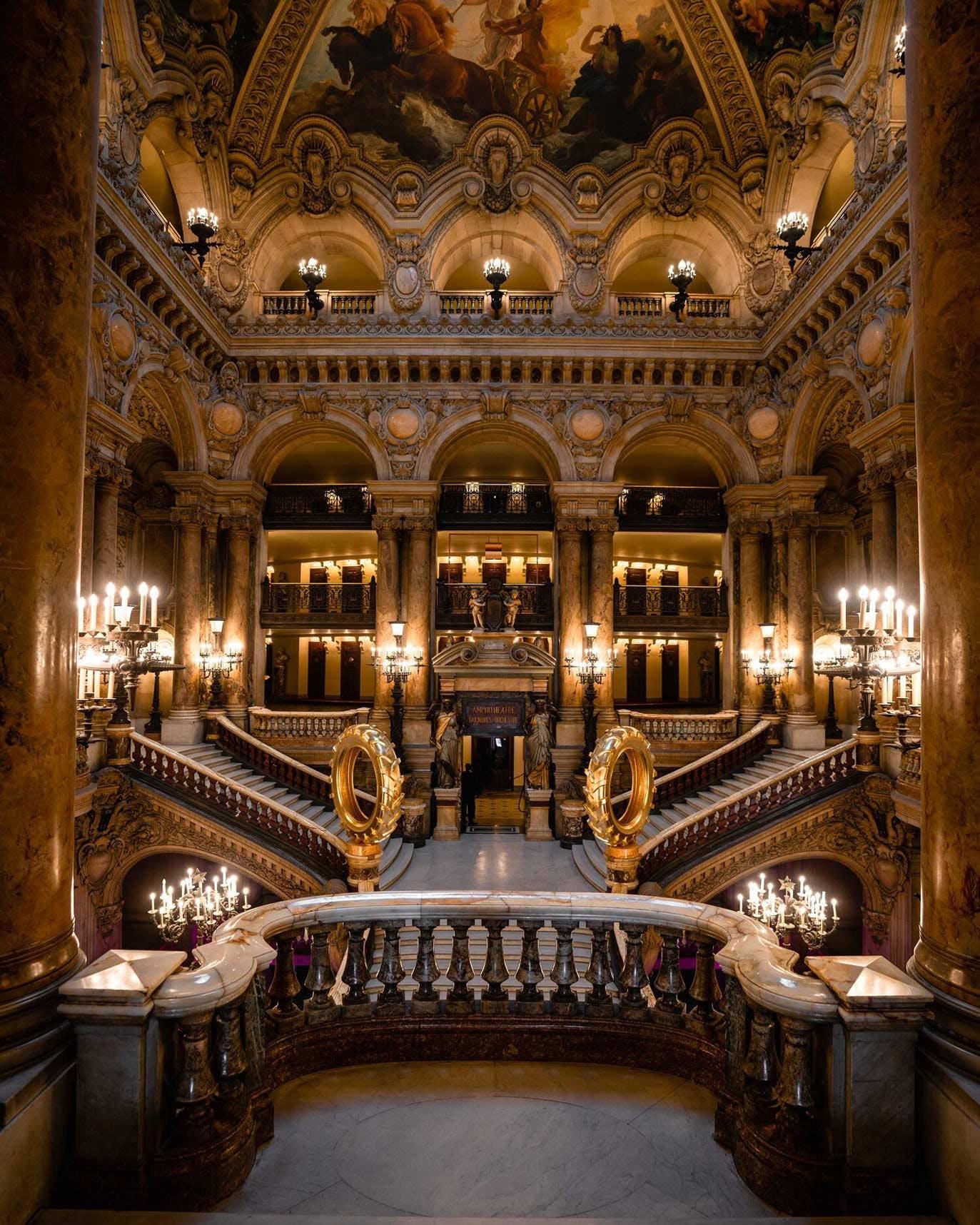 Palais Garnier Grand Staircase