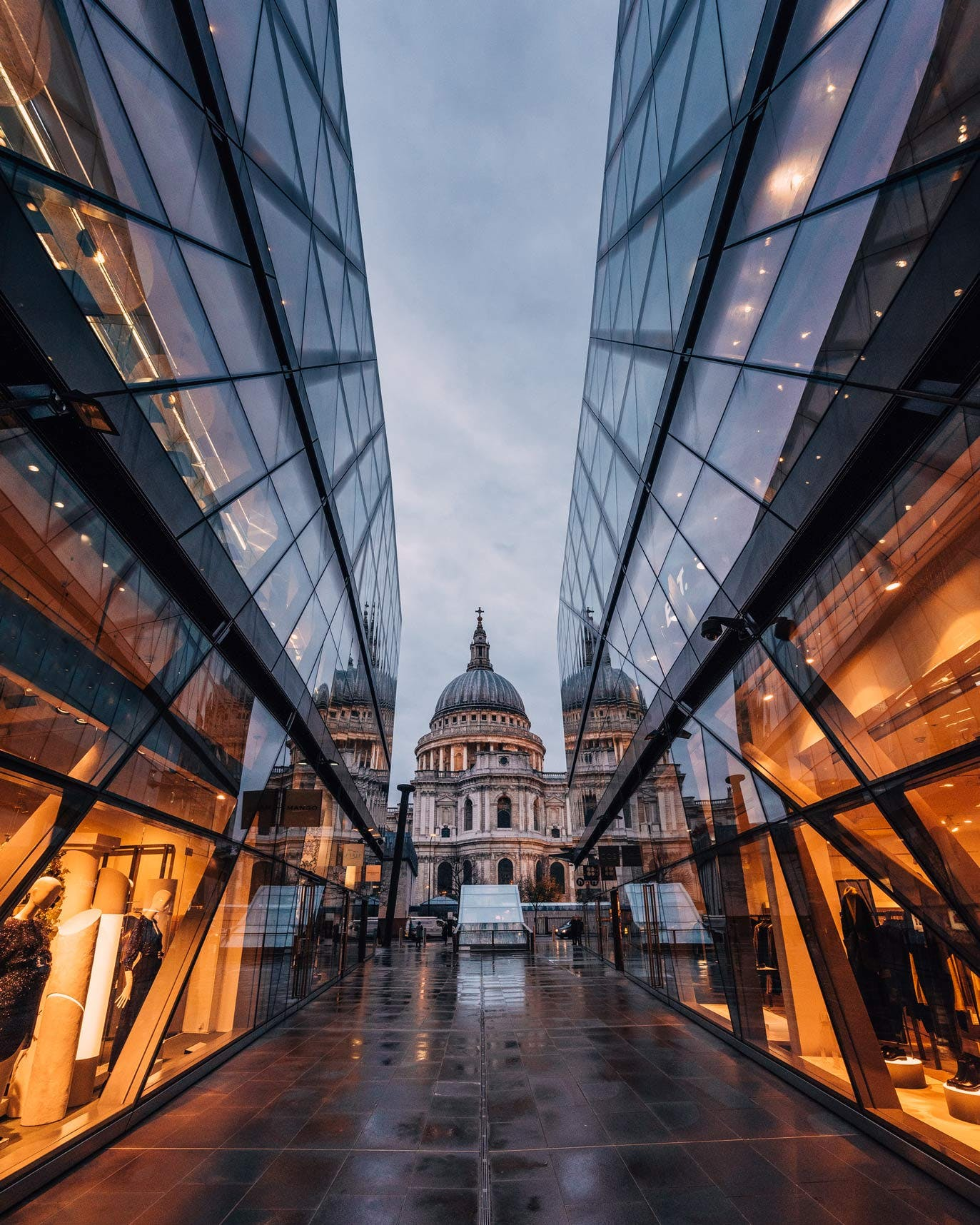 One New Change view of St Paul's Cathedral