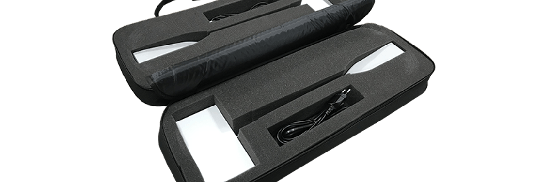 Led verlichting Display spots Cyra 20 Handzame tas voor 2 CYRA spots