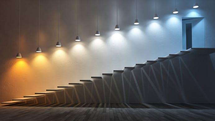 Led verlichting met diverse kleurtemperaturen