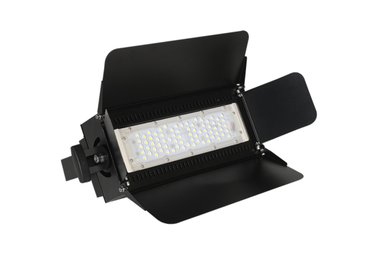 Led verlichting Floodlights Reno 75 Incl. barndoors