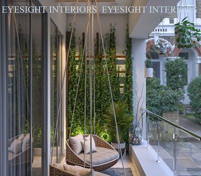 Stylish balcony design