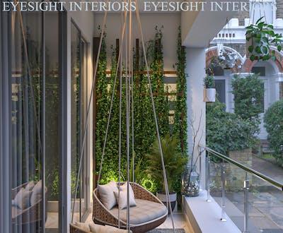 Stylish Balcony designing