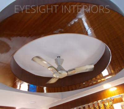 ceiling design by eyesight interiors