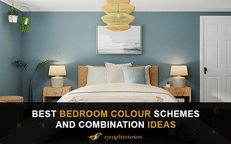 12 Best Bedroom Colour Schemes and Combination Ideas [2021] - blog poster