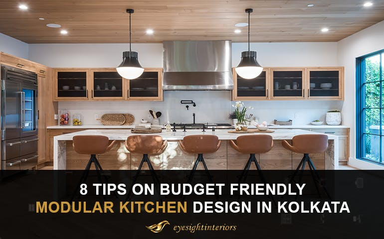 8 Tips On Budget Friendly Modular Kitchen Design in Kolkata - blog poster