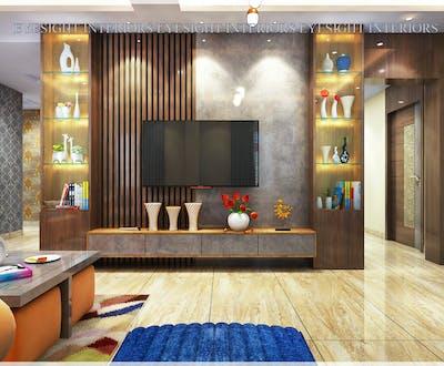 Attractive TV Unit Interior Design