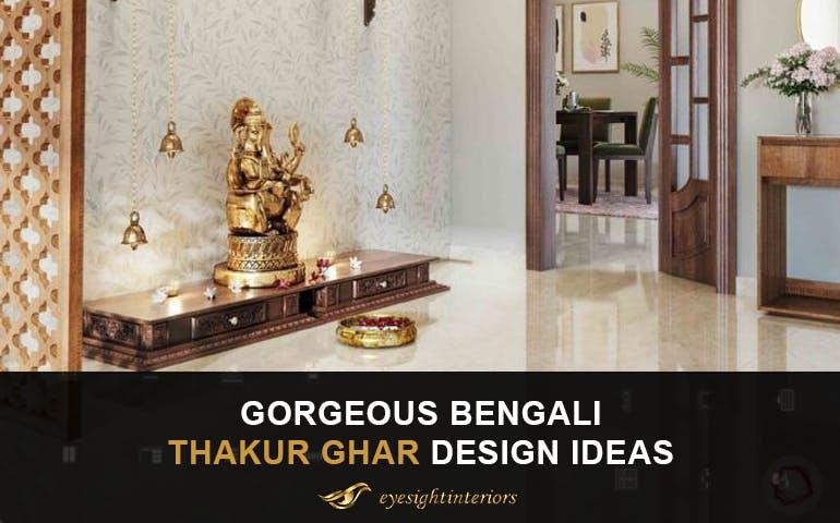 Bengali Thakur Ghar Design