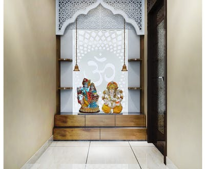 Gorgeous Mandir designing