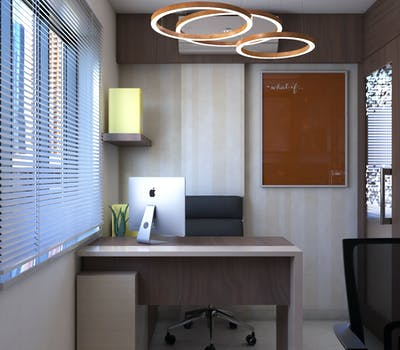 Modern desk design for office