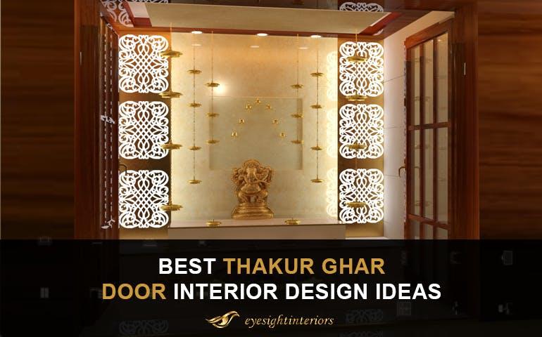 9 Best Thakur Ghar Door Interior Design Ideas