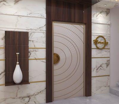 Attractive main door