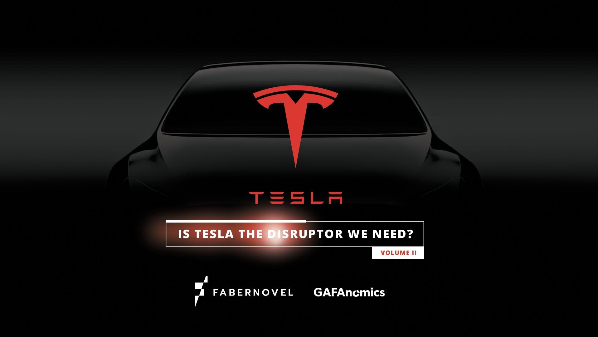 Fabernovel décrypte Tesla dans sa nouvelle étude GAFAnomics