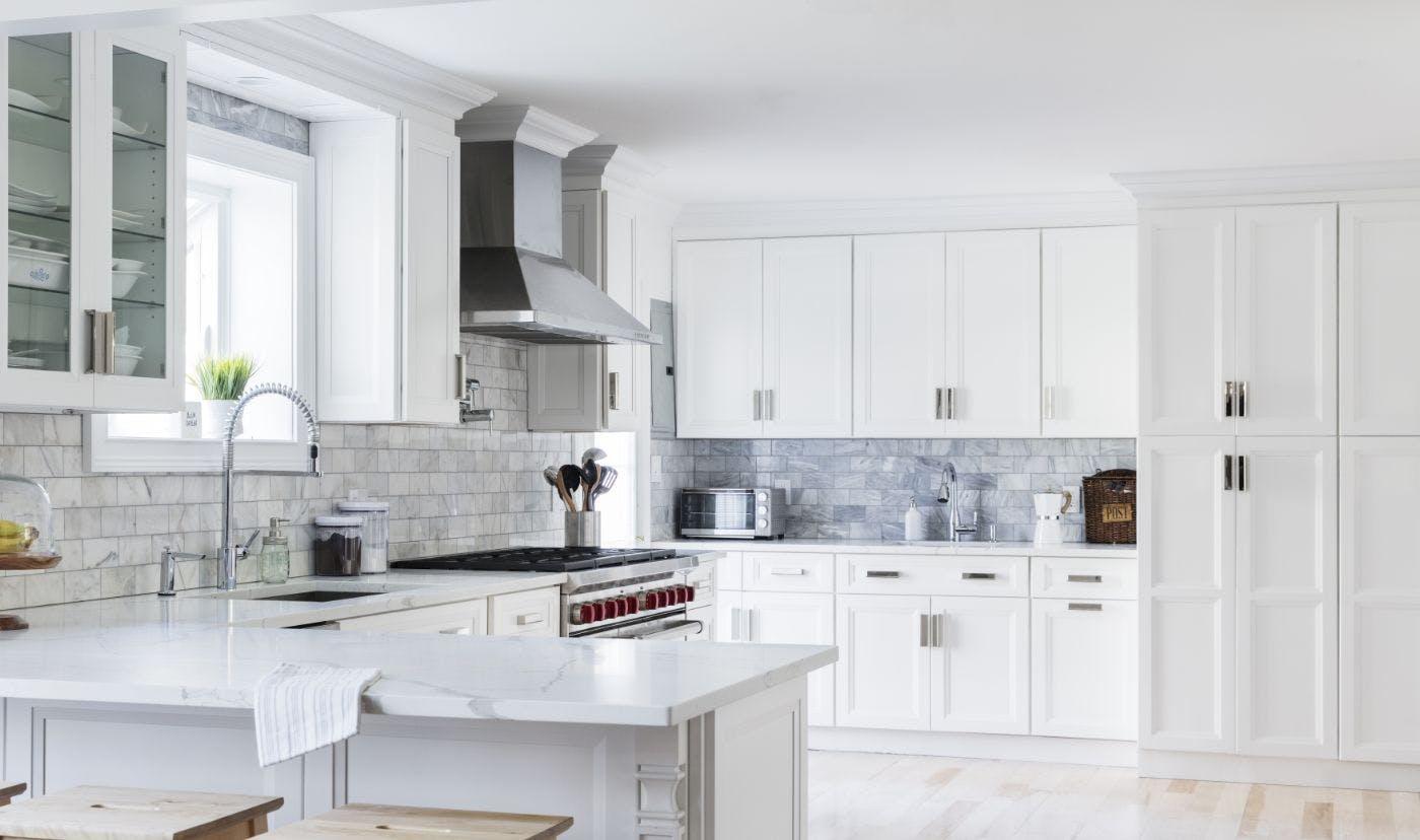 white kitchens, kitchen inspiration