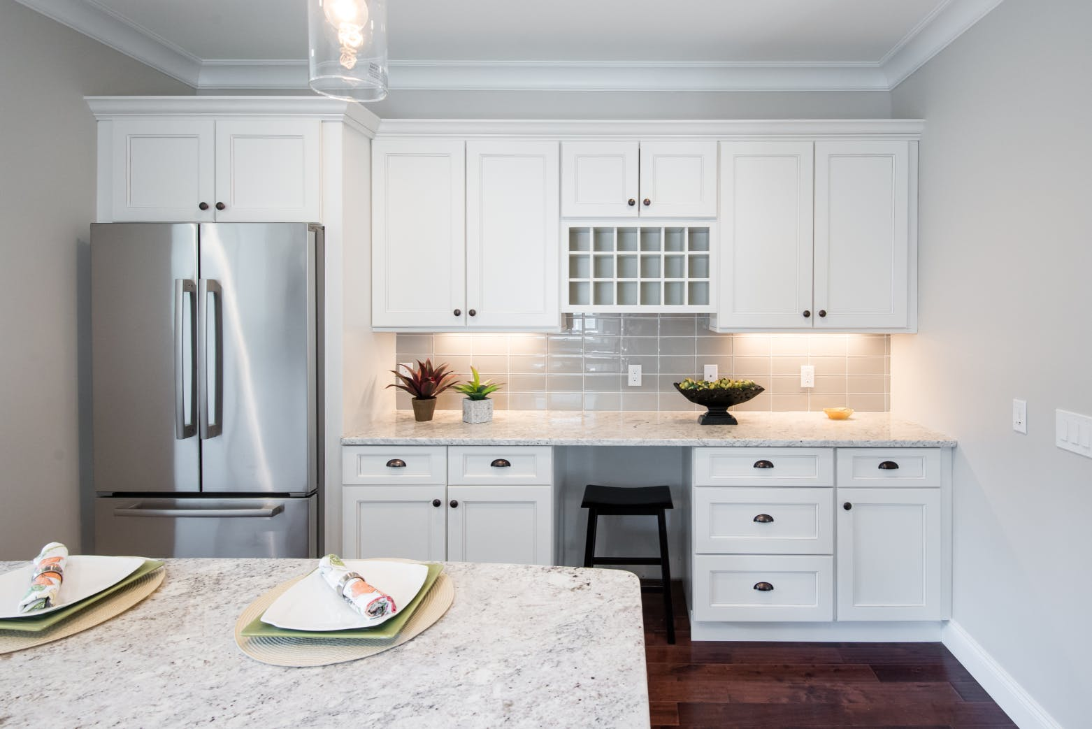 How to keep white kitchen cabinets timeless