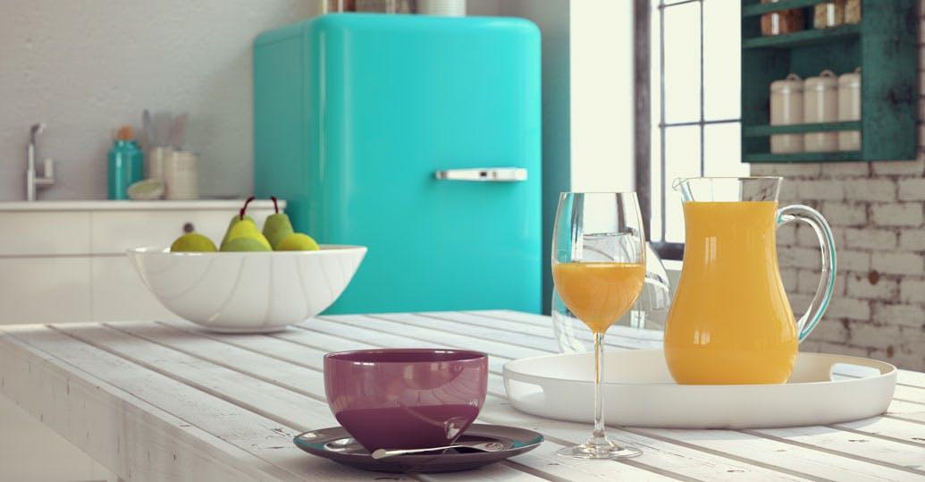 colored kitchen appliances