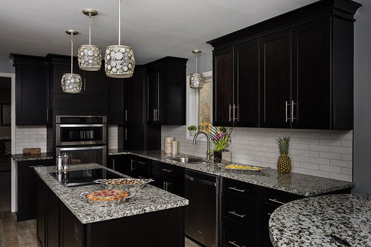 The Dark Kitchen Cabinet Trending