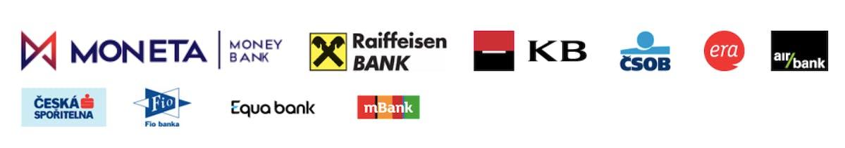 Banky podporující platbu pomocí QR kódu na faktuře