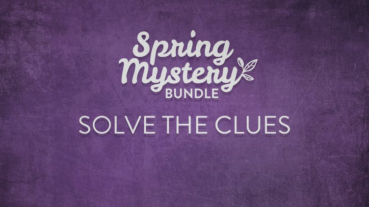 What's in the Spring Mystery Bundle - Solve our pictures clues